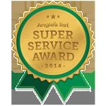 Angie's List Super Service Award Winner 2014